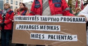 Medikai protestas
