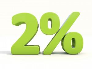 2 proc.