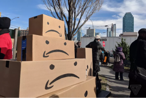 amazon workers strike2