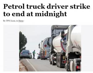 vairuotojų streikas portugalijoje