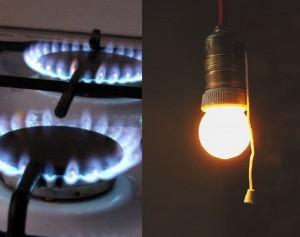 elektra ir dujos